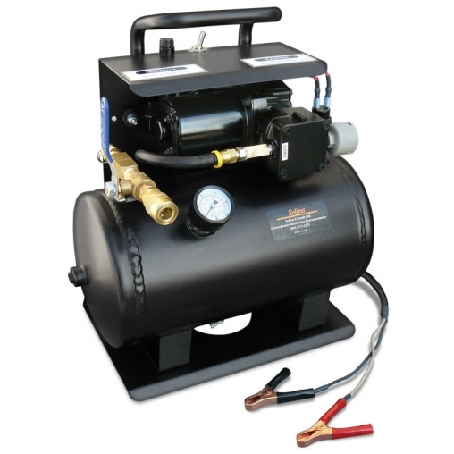 Compressore portatile a 12V a 125 psi senza olio
